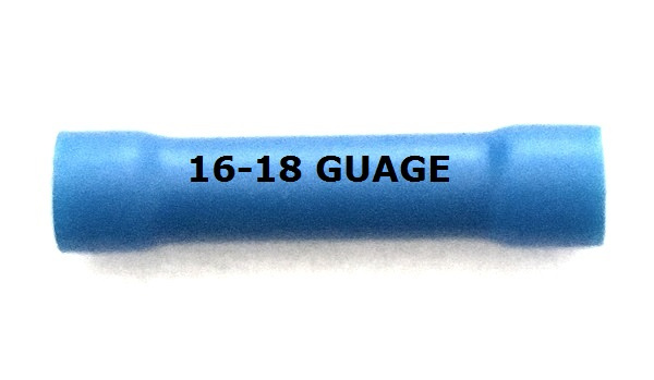 EL 102 -Reg.or Bulk / Blue Butt Connector / Vinyl