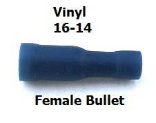 EL 145 -Reg or Bulk  / Blue Female Bullet