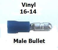 EL 144 -Reg.or Bulk  / Blue Male Bullet