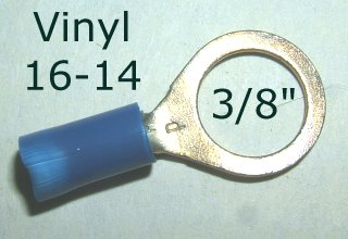 "EL 131 / 50pcs. - 3/8"" Blue Eyelet"