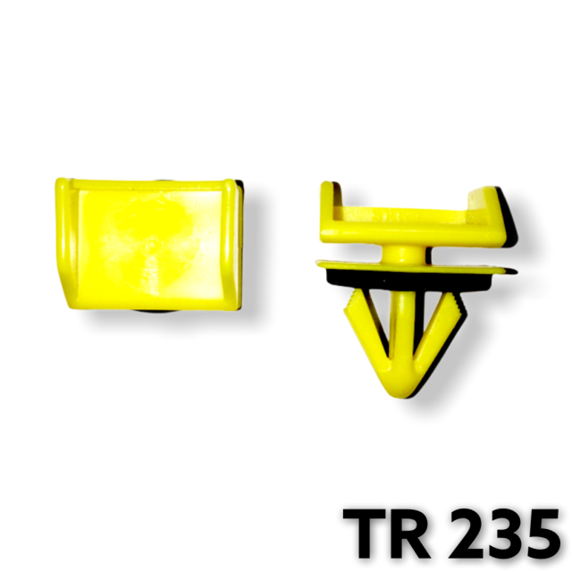 TR235 - 5 or 20 / GM Wheel Opening Moulding Clip / Yellow Nylon