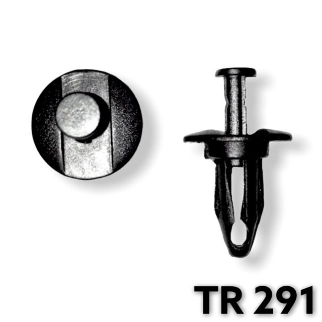 "TR291 - 25 or 100 / GM Front Bumper Fascia Retainer (3/8"" Hole)"