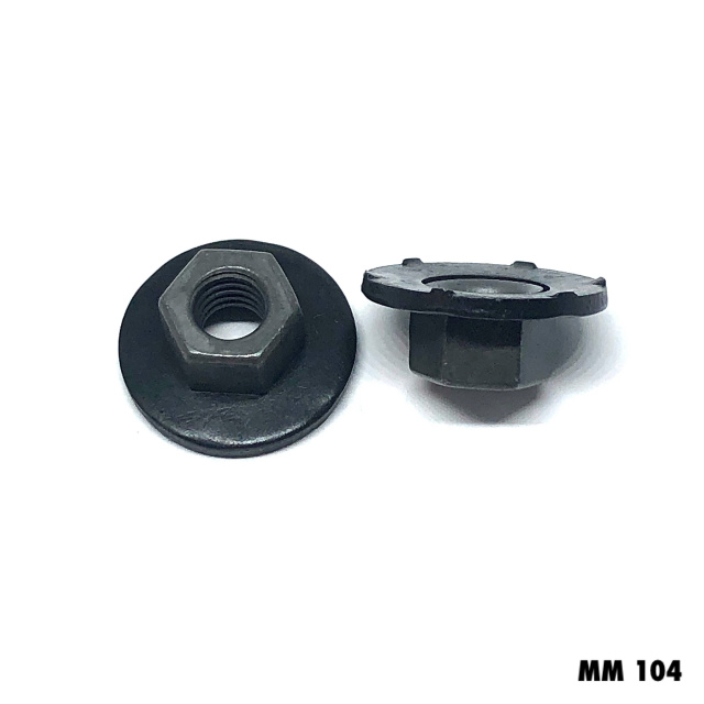 MM104 - 25 or 100  - 6mm / Lrg.Floating Washer