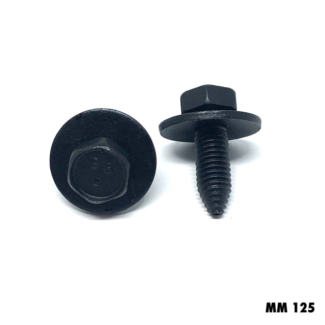 MM125 - 25 or 100  -  8x25mm Body Bolt