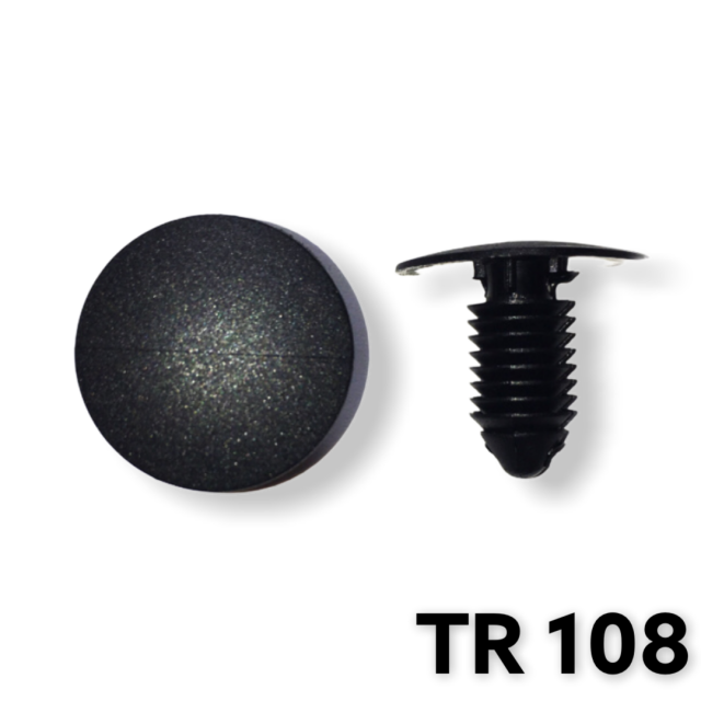 "TR108 - 25 or 100 / Shield Retainer 3/8"" (9.50mm)"