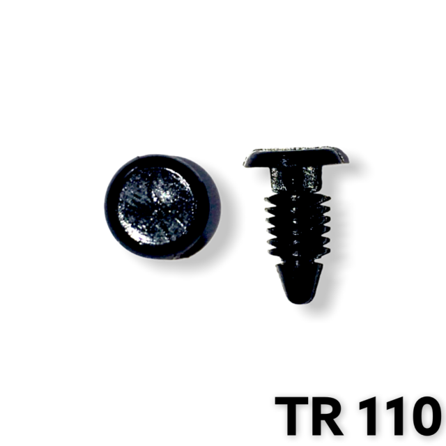 "TR110 - 50 or 200 / Weatherstrip Ret. (3/16"" Hole)"