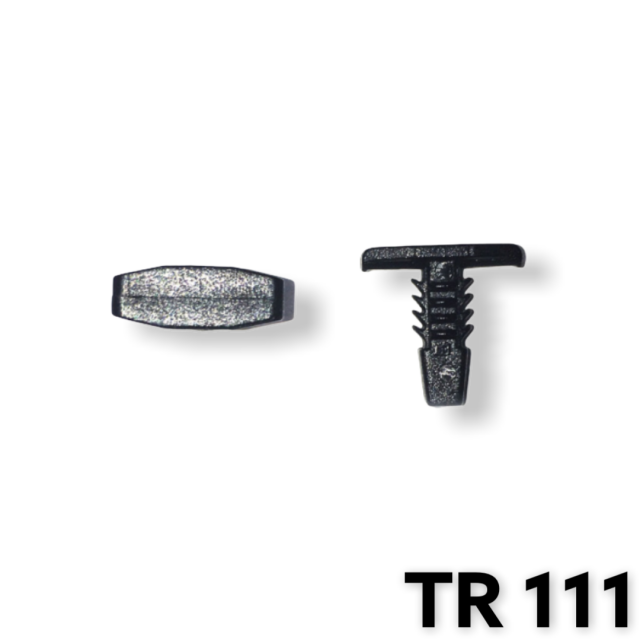"TR111 - 50 or 200 / Weatherstrip Ret. (3/16"" Hole)"