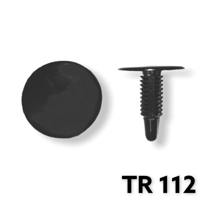 "TR112 - 25 or 100 / Trim Panel Retainer (1/4"" Hole Size)"