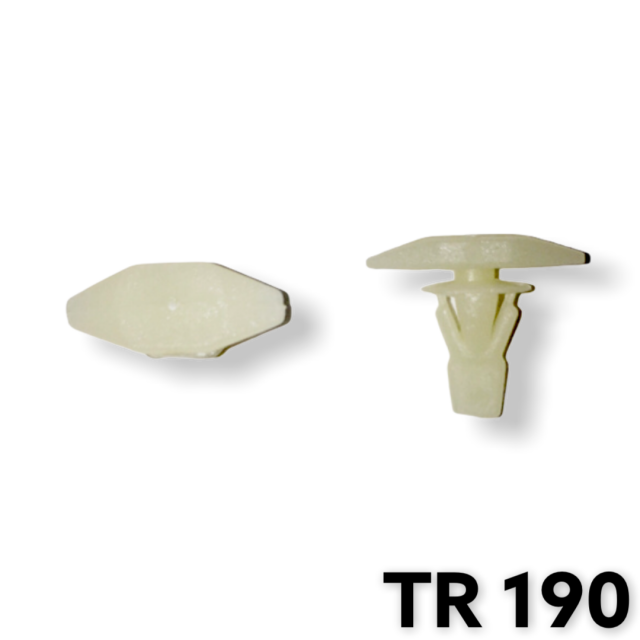 "TR190 - 50 or 200 / Weatherstrip Ret. (3/16"" Hole)"