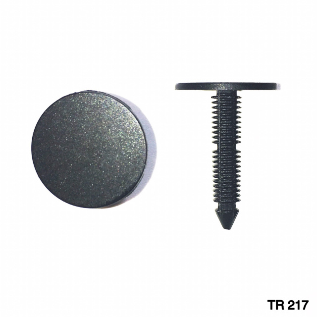 "TR217 -25 or 100 / Shield Retainer (1/4"" Hole)"
