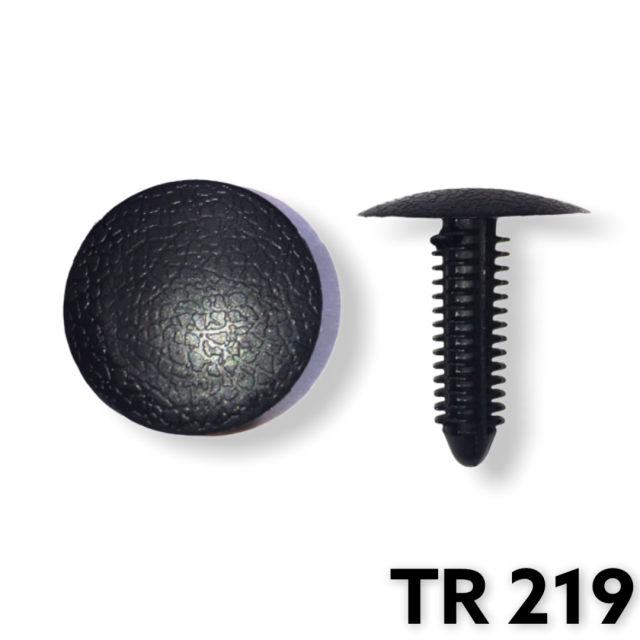 "TR219 - 25 or 100 / Cowl Side Panel Ret. (1/4"" Hole)(OUTofSTOCK)"