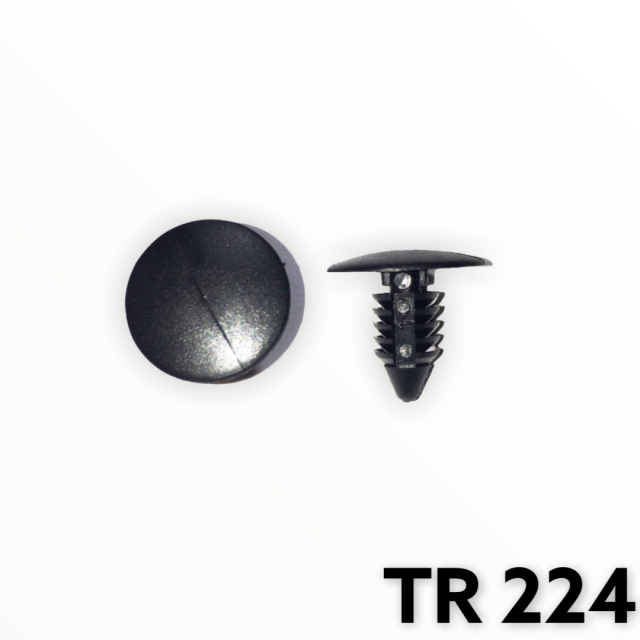 "TR224 - 100 or 500 / Fender & Bumper Shield Ret. (1/4"" hole)"