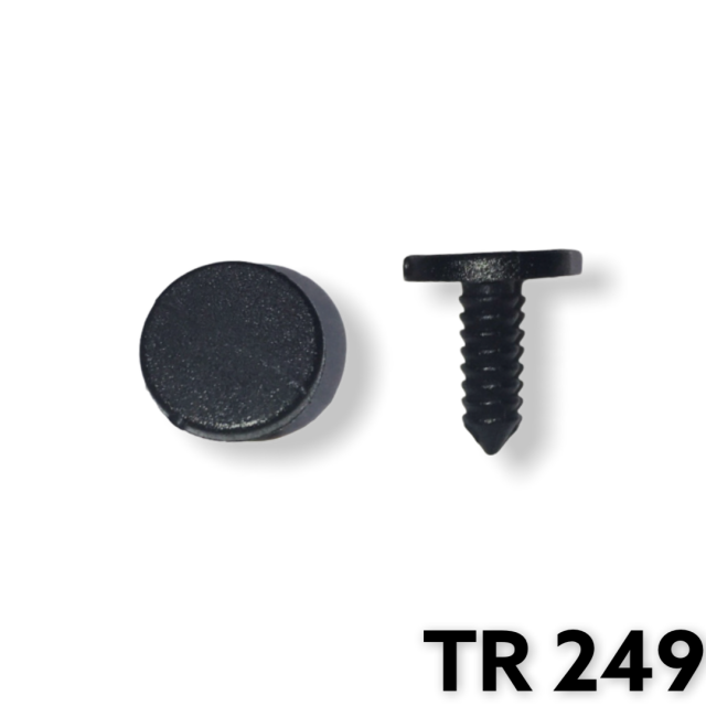 "TR249 - 50 or 200 / Weatherstrip Ret. (1/8"" Hole)"