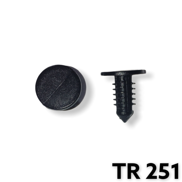 "TR251 - 50 or 200 / Fascia Shield Ret (3/16"" Hole)(OUTofSTOCK)"