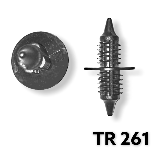 "TR261 -25 or 100   /Radiator Grill Retainer (5/16"" Hole) POPULAR FOR FASTENING SEAT CUSHIONS!!!"