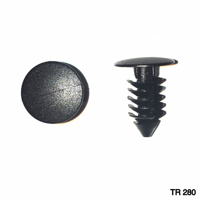 "TR280 - 100 or 500 / Universal Trim Clip (1/4"" Hole)(OUTofSTOCK)"