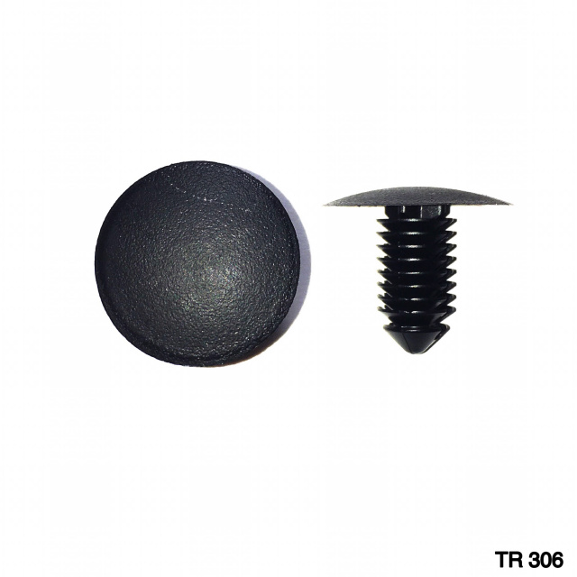TR306 -25 or 100    /   Shield Retainer (9mm Hole)