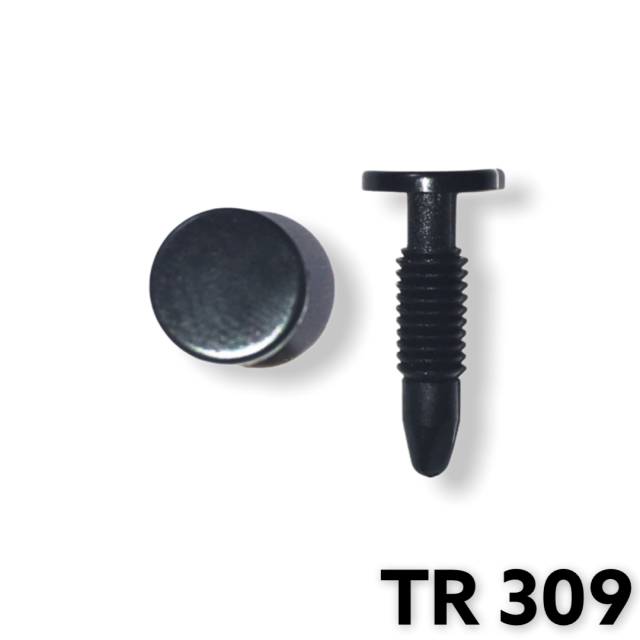 "TR309 - 25 or 100 / Side Roof Rail Watherstrip Ret. (3/16"" Hole)"