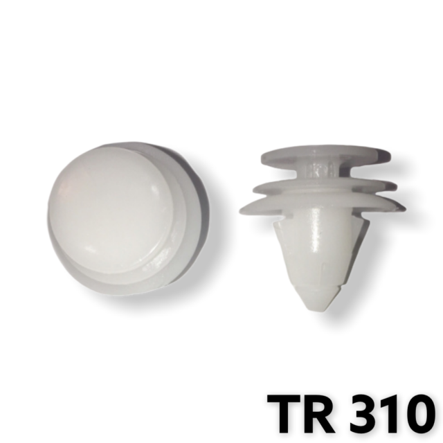 "TR310 - 25 or 100 / Door Trim Panel Ret. (3/8""Hole)"