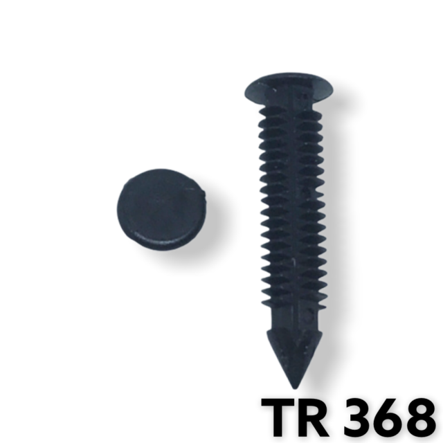 TR368 - 25 or 100 / GM Bumper Cover Retainer (7mm Hole)