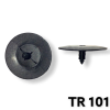 TR101 - 25 or 100  / G.M.Hood Insulation Retainer