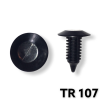 "TR107 - 25 or 100 / Trim Panel Retainer (Hole Size 5/16"")"