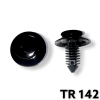 "TR142 - 25 or 100 / Door Trim Panel Ret. (5/16"" Hole)(OUTofSTOCK)"