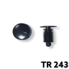 "TR243 - 50 or 200 / Weatherstrip Retainers (13/64"")"