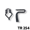 TR254 -25 or 100 / Wire Type Trim Panel Retainer